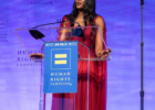AWARD: BRITISH MODEL, NAOMI CAMPBELL HONORED WITH THE GLOBAL ADVOCACY AWARD IN NEW YORK